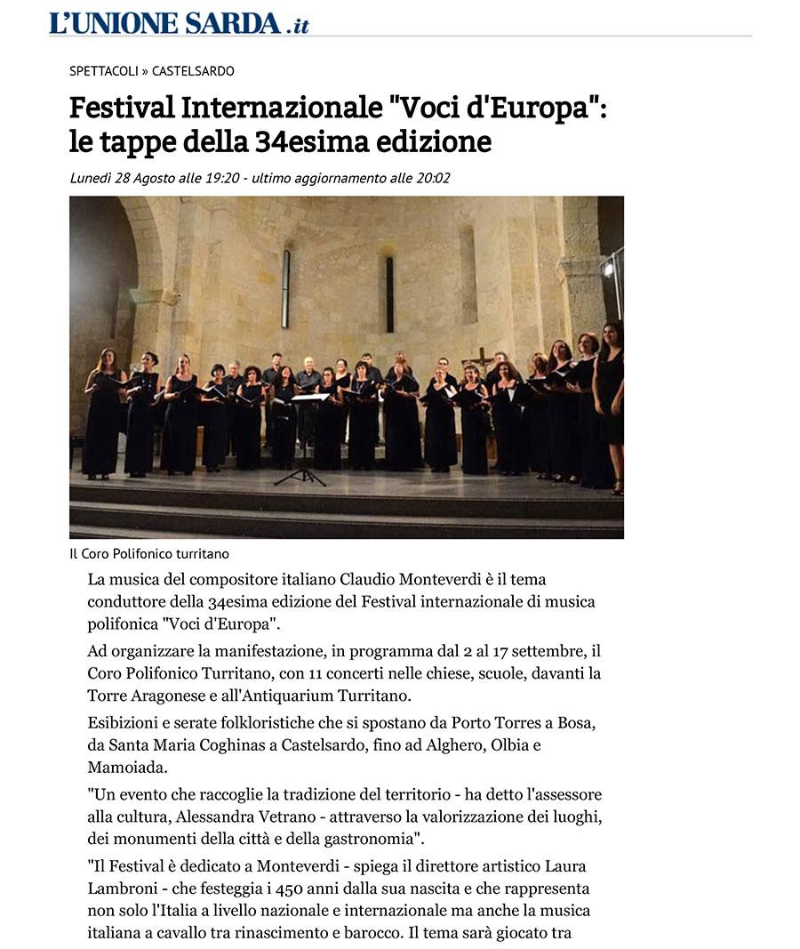 Festival Voci d'Europa