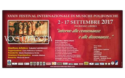 Festival Voci d'Europa 2017